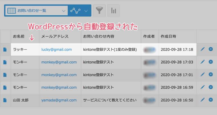 WordPressで作ったサイトのお問い合わせページから問い合わせる