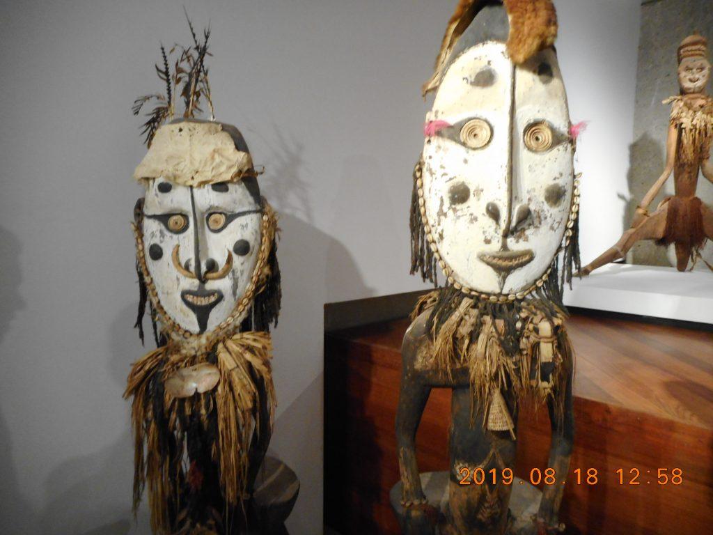 パプアニューギニア1日目:国立博物館・美術館