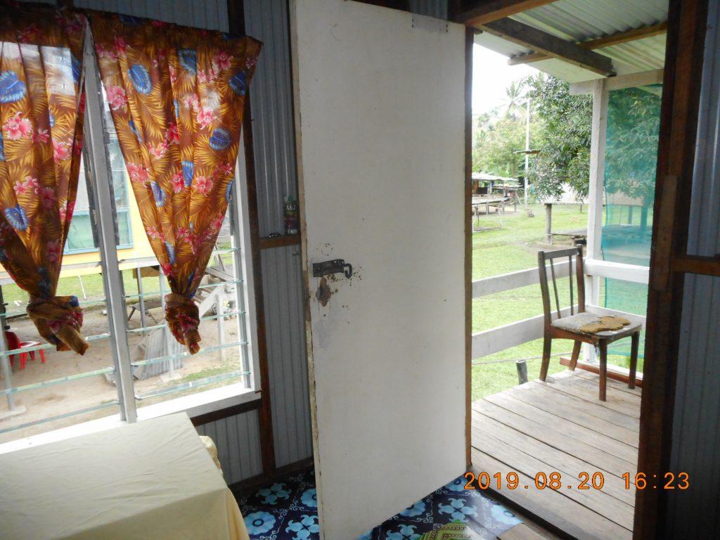 パプアニューギニア3日目:リゴ村のお風呂は川