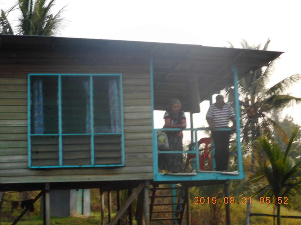 パプアニューギニア4日目:リゴ村での初めての朝