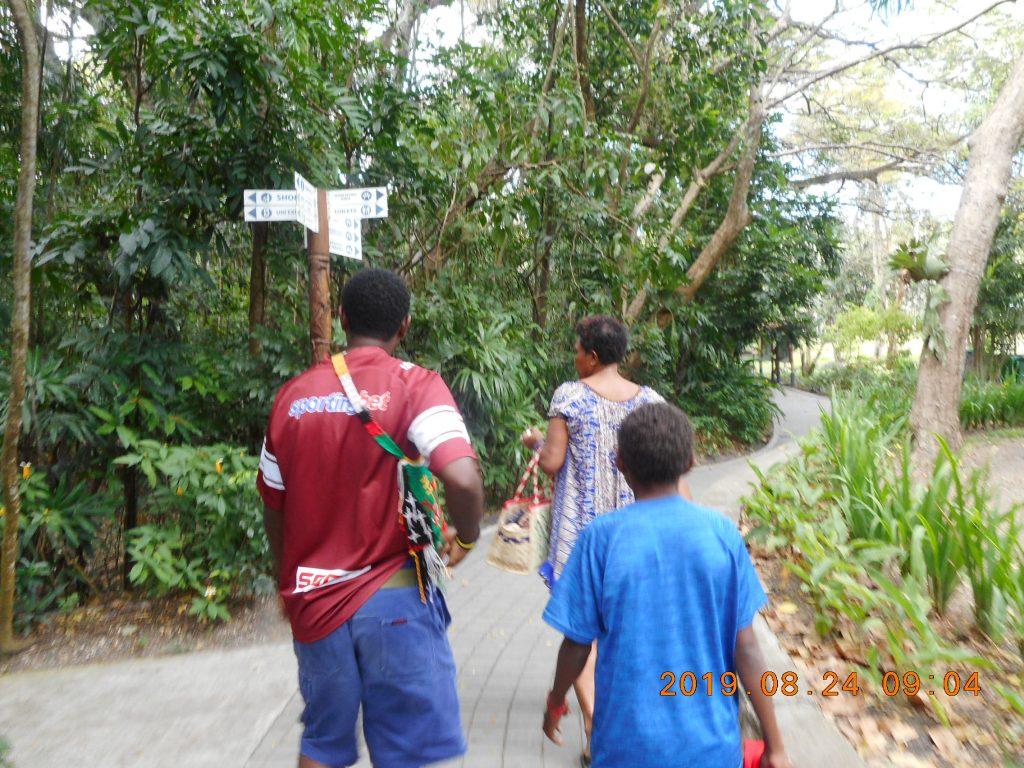パプアニューギニア7日目:ポートモレスビー・ネイチャーパーク