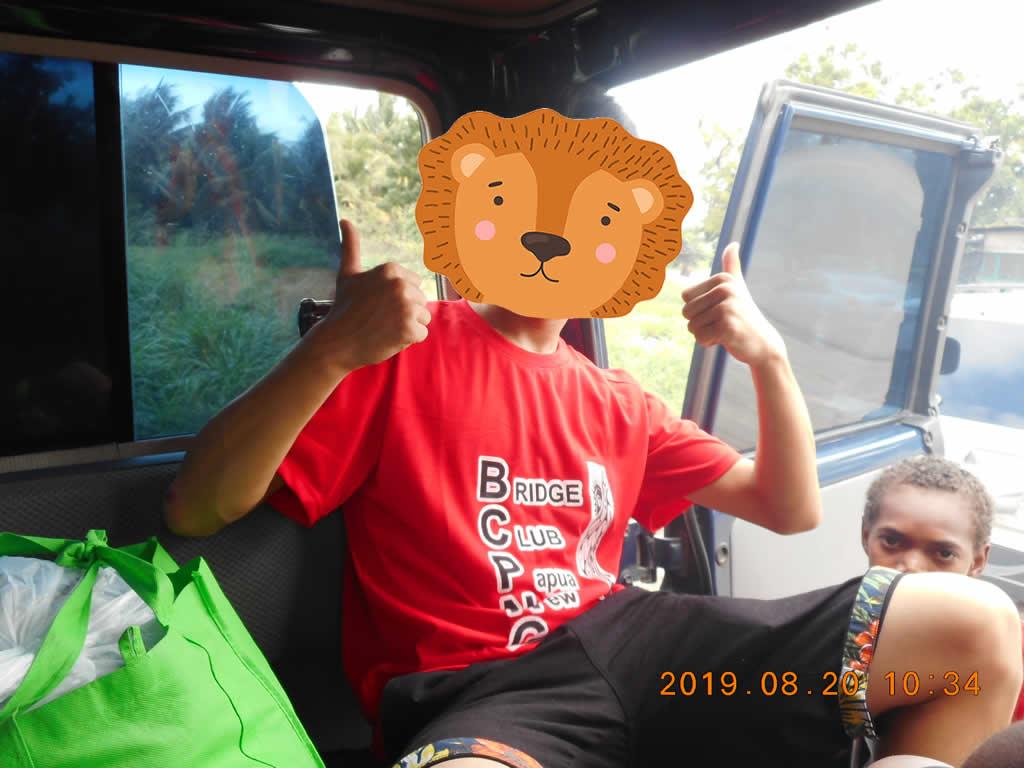 パプアニューギニア3日目:リゴ村へ
