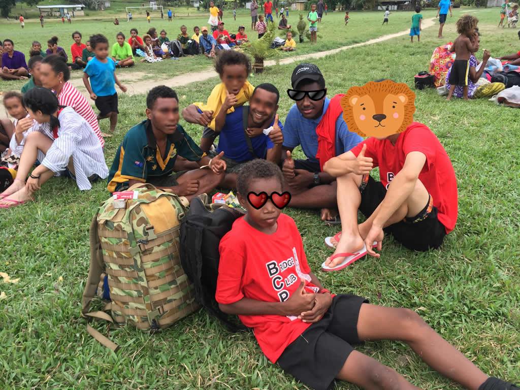 パプアニューギニア3日目:リゴ村での新たなホストファミリー