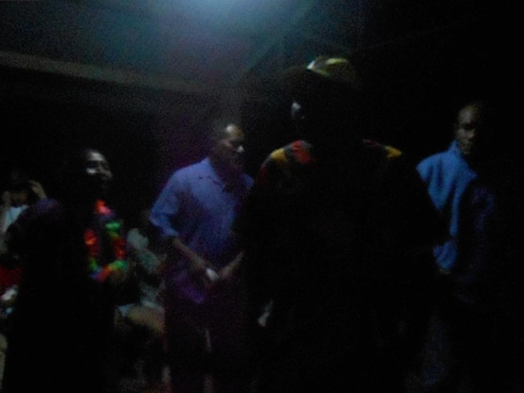 パプアニューギニア4日目:夜のつどい