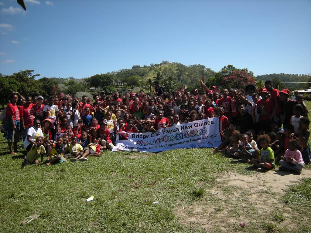 パプアニューギニア5日目:リゴ村とのお別れ