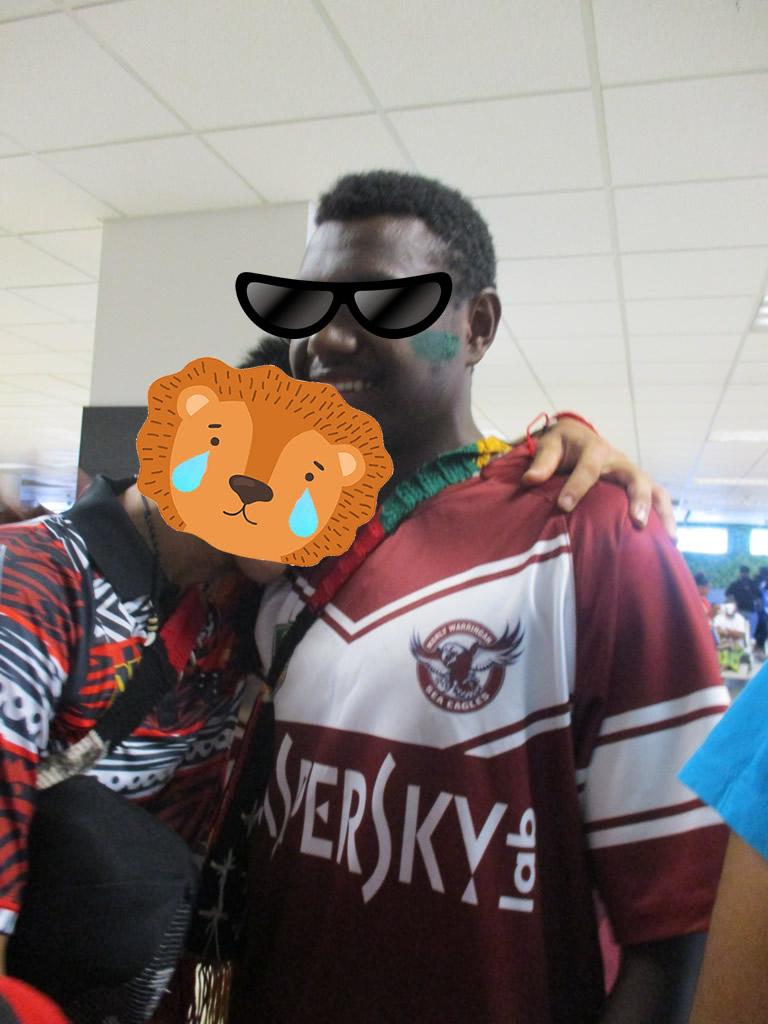 パプアニューギニア7日目: 空港でのお別れ
