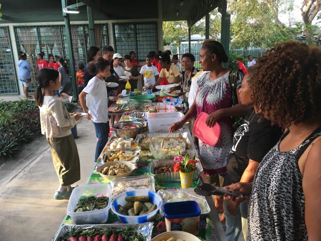 パプアニューギニア1日目:ウエルカムパーティ